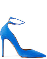 Allure suede pumps cobalt blue medium 443667