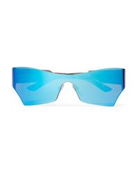Balenciaga Cat Eye Acetate Mirrored Sunglasses