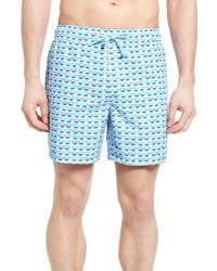 Original Penguin Reversible Swim Trunks