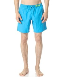 Moschino Solid Swim Trunks