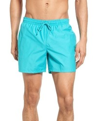 Lacoste Solid Swim Trunks