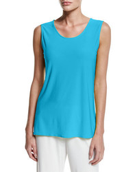 Caroline Rose Sleeveless Long Travel Friendly Tank