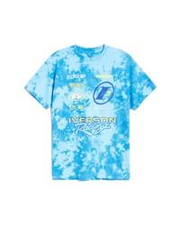 Reebok X Allen Iverson Logo Tie Dye Graphic Tee