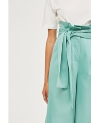 Boutique Belted Wide Leg Trousers