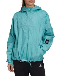 adidas Wnd Primeblue Hooded Jacket