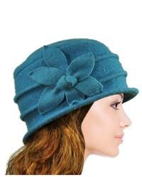 Aquamarine Wool Hat