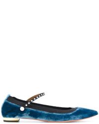 Bailarinas azul marino de Aquazzura