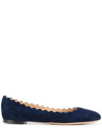 Bailarinas azul marino de Chloé