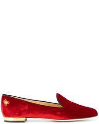 Bailarinas rojas de Charlotte Olympia