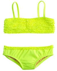 Bañador en amarillo verdoso de J.Crew