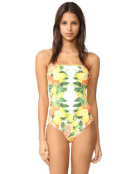 Bañador estampado amarillo de Stella McCartney