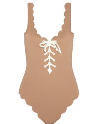 Bañador marrón claro de Marysia Swim