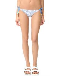 Bas de bikini imprimé bleu clair Stella McCartney
