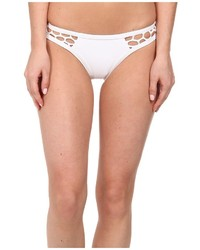 Bas de bikini résille blanc Seafolly