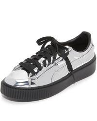 Acheter Chaussures Femmes Puma Mode Argentées 4pY6qr0nY
