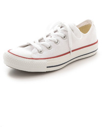 Baskets basses blanches Converse
