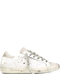 Baskets basses blanches Golden Goose Deluxe Brand