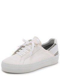 Baskets basses blanches Helmut Lang