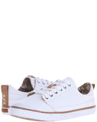 Baskets basses blanches Reef