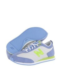 Baskets basses bleu clair New Balance Classics