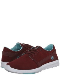 Baskets basses bordeaux Etnies