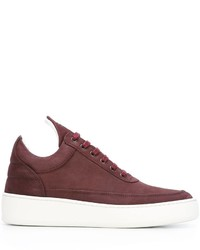 Baskets basses bordeaux Filling Pieces