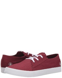 Baskets basses bordeaux Volcom