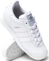 Baskets basses en cuir blanches