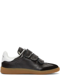 Baskets basses en cuir noires Isabel Marant