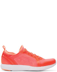 Baskets basses rouges adidas by Stella McCartney