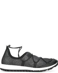 Baskets noires Jimmy Choo