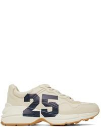 Gucci Beige 25 Evolution Rhyton Sneakers
