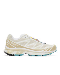 Salomon Beige Limited Edition Xt 6 Adv Sneakers