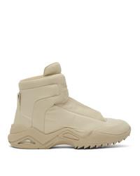 Maison Margiela Beige New Future Desert Sneakers