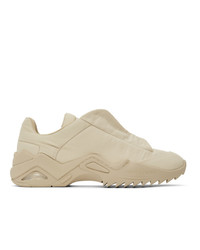 Maison Margiela Beige New Future Sneakers