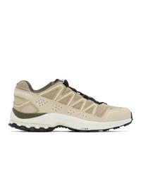 Salomon Beige Xa Comp Ltr Adv Sneakers