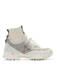 Roa Off White Daiquiri Hi Sneakers