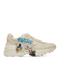 Gucci Off White Disney Edition Donald Duck Rhyton Sneakers