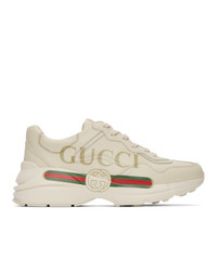 Gucci Off White Rhyton Sneakers
