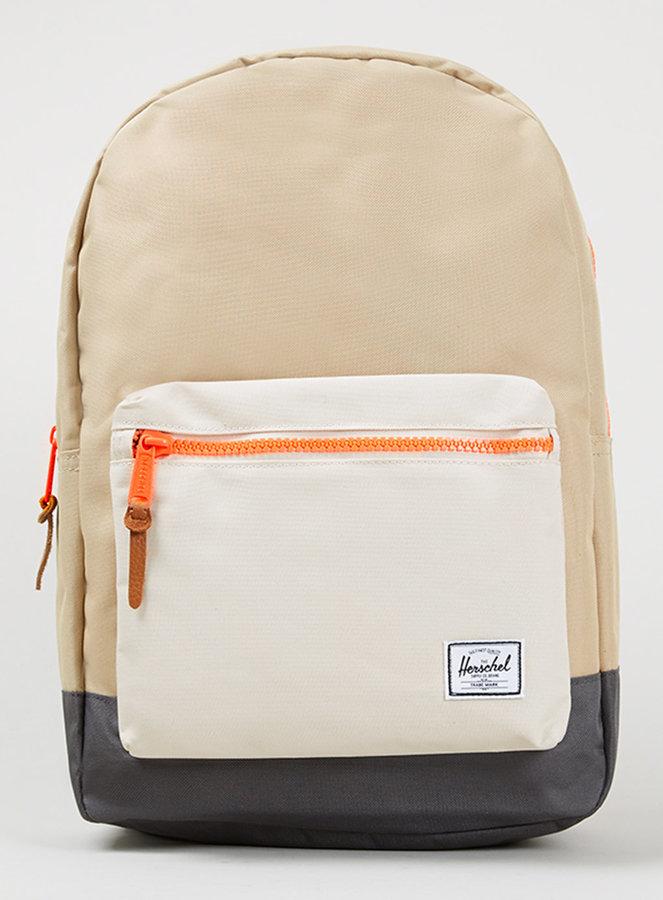 a7c7998aa31d ... Herschel Beige Settlet Backpack ...