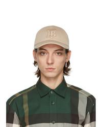 Burberry Beige Tb Monogram Baseball Cap