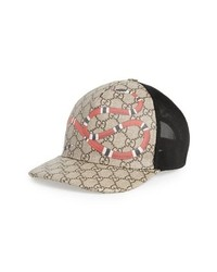 Gucci Kingsnake Canvas Baseball Cap