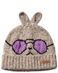 Barts Beige Cool Rabbit Eyor Beanie