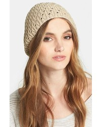 Nordstrom Knit Beanie Beige Cet One Size