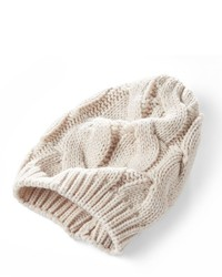 Simply Vera Vera Wang Mixed Stitch Cable Knit Beanie