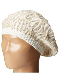 Calvin Klein Shaker Stitch Cable Beret