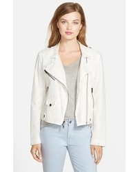 Rebecca Minkoff Wes Cotton Moto Jacket