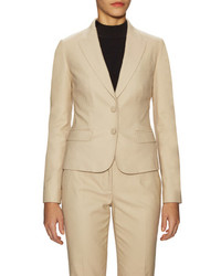 Dolce & Gabbana Cotton Peak Lapel Blazer