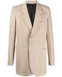 Ami Paris Hidden Buttoning Tailored Blazer