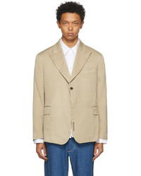 CONNOR MCKNIGHT Khaki Double Breasted Blazer